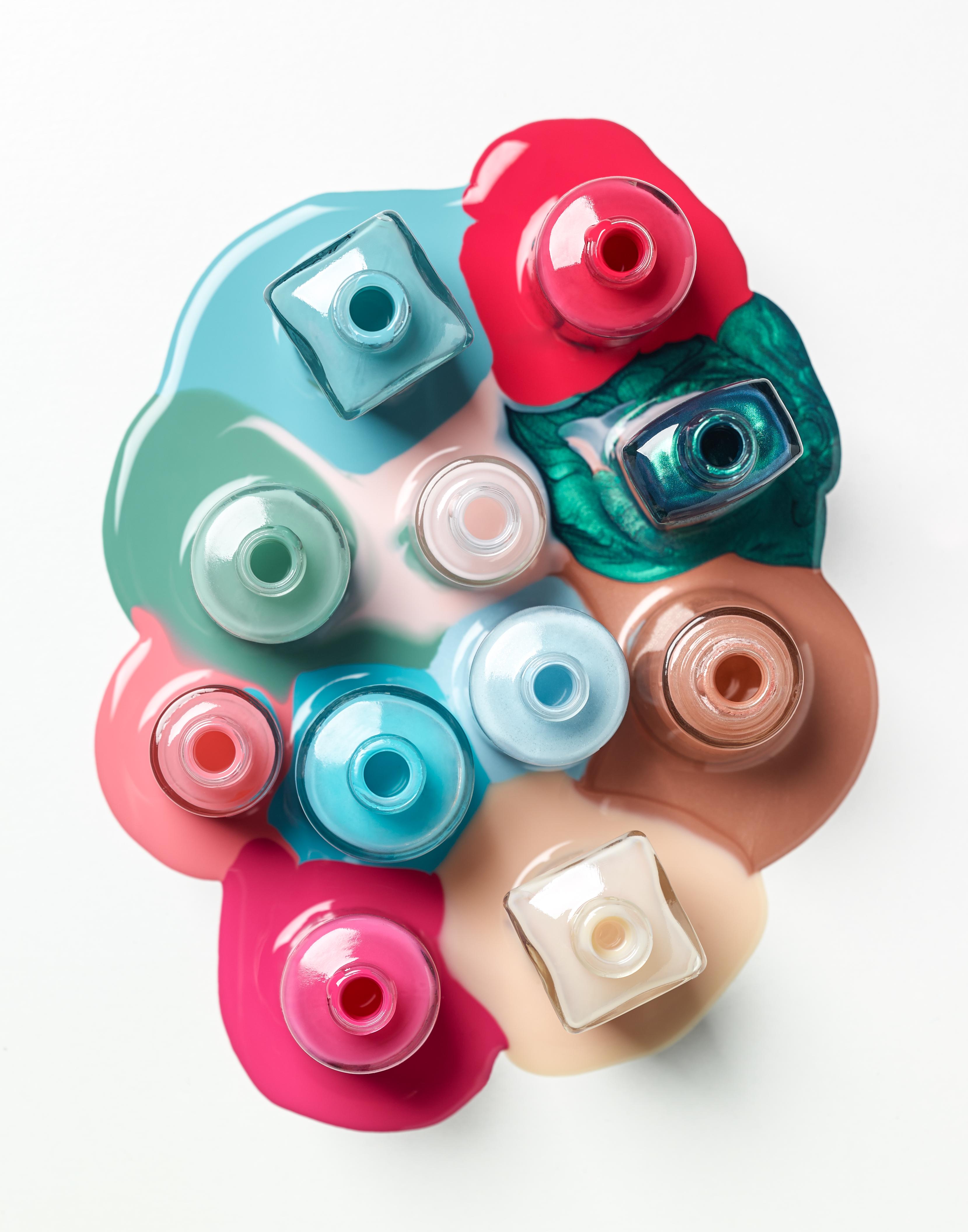 Nail Polish stock photo. Image of care, cosmetics, enamel ...  |Polish Photography